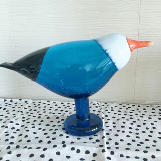 iittala - イッタラバード Blue Magpie  青い鳥 脚付きバード