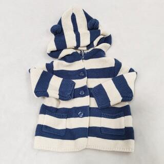 ベビーギャップ(babyGAP)の美品 babyGAP ベビーアウター セーター(ニット/セーター)