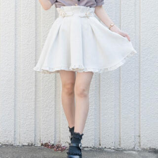 ロジータ(ROJITA)の♡ ROJITA ハートビジューバックルスカート ♡(ミニスカート)