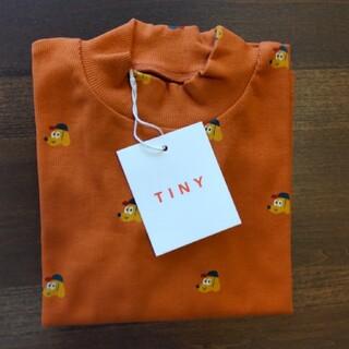 こどもビームス - tinycottons 21AW ハイネック 長袖Tシャツ dogs 4y