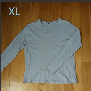 ムジルシリョウヒン(MUJI (無印良品))の無印良品 長袖Tシャツ XL メンズ(Tシャツ/カットソー(七分/長袖))