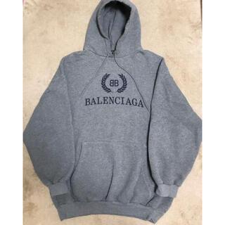 Balenciaga - バレンシアガ 裏起毛 プルオーバーパーカー