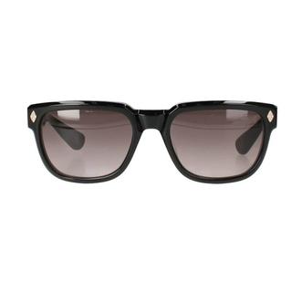 Chrome Hearts - クロムハーツ サイドダイヤCHプラステンプルウェリントン眼鏡 56□20