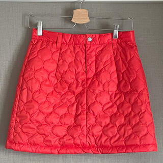 BRIDGESTONE - 【一回使用】Paradiso(BRIDGESTONE) ダウンスカート 赤