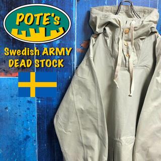 【デッドストック スウェーデン軍】M39スノーカモパーカー アノラック 40s