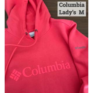 コロンビア(Columbia)のColumbia Logo hoodie☆コロンビア フーディー★美品(パーカー)