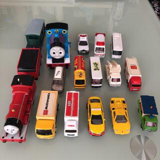トミー(TOMMY)の機関車トーマス&トミカ ミニカー まとめ売り(ミニカー)