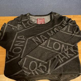 マークアンドロナ(MARK&LONA)のMARK&LONA 黒ロングTシャツ(ウエア)