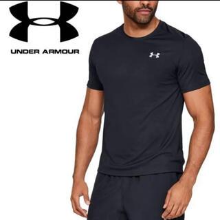 UNDER ARMOUR - ★未使用タグ付 アンダーアーマー Tシャツ ショートスリーブ M ブラック 黒