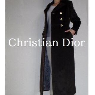 クリスチャンディオール(Christian Dior)の【正規品】◆Mademoiselle Dior◆ ブラウン ロング コート(ロングコート)