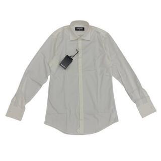 ディースクエアード(DSQUARED2)の【新品未使用】DSQUARED2 メンズ トップス ワイシャツホワイト(シャツ)
