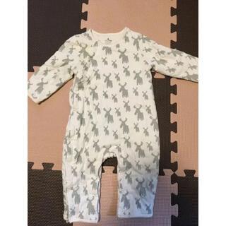 ベビーギャップ(babyGAP)のbaby GAP ロンパース 6-12M 70 長袖 冬(ロンパース)
