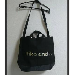 niko and... - niko and ...   CITY CREEKコラボ キャンバストートバッグ