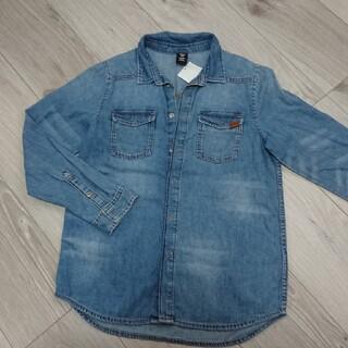 エイチアンドエム(H&M)のH&M デニムシャツ  新品(ジャケット/上着)