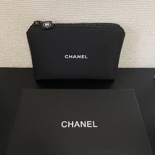 CHANEL - 新品 CHANEL シャネル ノベルティ ポーチ 非売品 専用箱付き