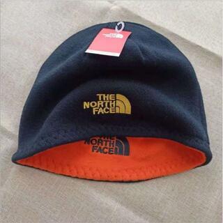 ザノースフェイス(THE NORTH FACE)のThe North Face 両面フリースアウトドアスポーツキャップブラックグレ(ハット)