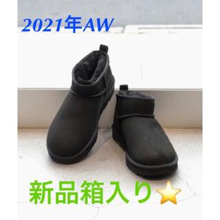 UGG - 【UGG】正規品!21年AW新品箱入り星Classic Mini ムートンブーツ