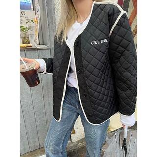 celine - CELINE 綿の服 ブルゾン
