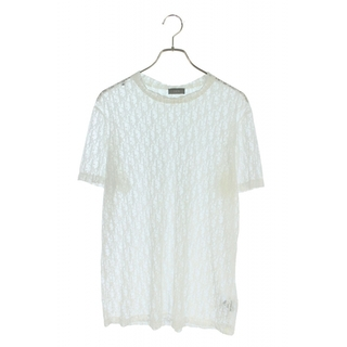 Dior - ディオール 183J652A0537 オブリーク総柄シースルーTシャツ M