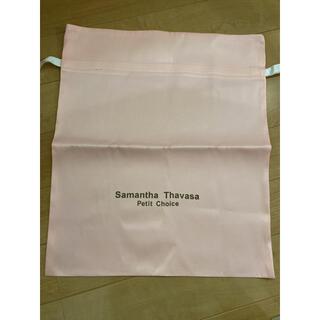 サマンサタバサプチチョイス(Samantha Thavasa Petit Choice)のサマンサタバサ プチチョイス 巾着(ショップ袋)