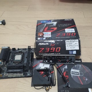 9900k + z390 Phantom itx
