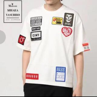 MIHARAYASUHIRO - ★希少 未使用保管 定27500品 ミハラヤスヒロ Tシャツ オーバーサイズ 白