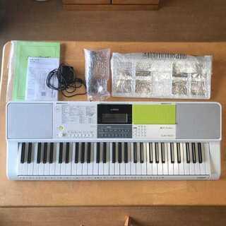 カシオ(CASIO)のCASIO LK-511 61鍵盤 電子キーボード 光ナビ(電子ピアノ)