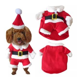 ペット 犬 猫 洋服 服 クリスマス サンタ クリスマス コスプレ XSサイズ