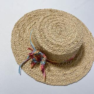 ハンドメイド・ラフィアハット(子どもサイズ)帽子 M-02(帽子)