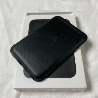 Apple - iPhone MagSafe Leather wallet