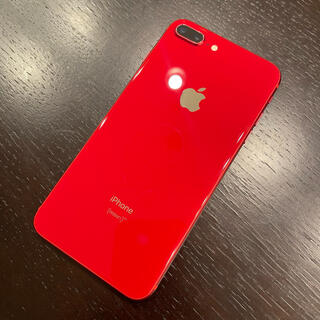 iPhone 8 Plus Product Red 256 GB SIMフリー