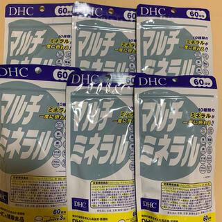 ディーエイチシー(DHC)のDHC マルチミネラル 60日分 6袋(その他)