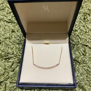Vendome Aoyama - ヴァンドーム青山☆リュールネックレス☆ピンクゴールド ダイヤモンド