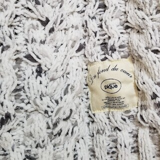 gelato pique - 【未使用】ジェラートピケ ブランケット アラン編み