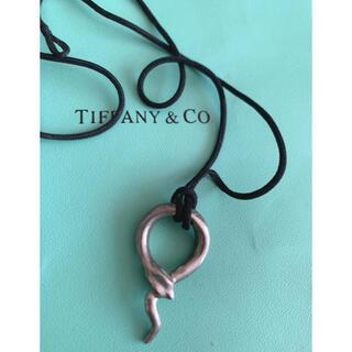 Tiffany & Co. - ティファニー スネーク シルクコード ネックレス