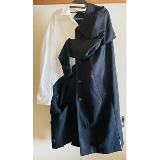 ENFOLD - エンフォルド シャツとコートのドッキングワンピース サイズ38