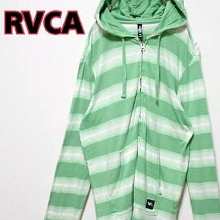 ルーカ(RVCA)のRVCA ルーカ フード ジップアップ メンズ 長袖 Tシャツ(Tシャツ/カットソー(七分/長袖))