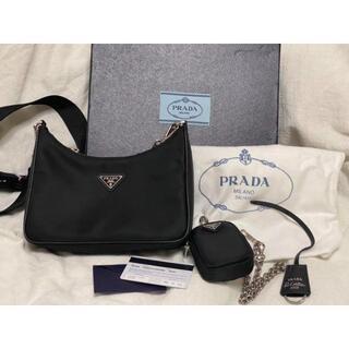PRADA - プラダ ナイロンショルダーバッグ