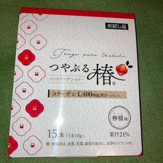 はつらつ堂 つやぷる椿 ナノコラーゲンゼリー 15本入り 【新品未開封】