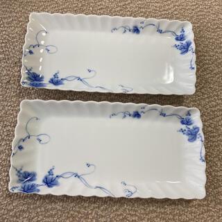 タチキチ(たち吉)の橘吉 魚皿 2枚(食器)