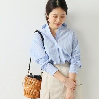IENA - 【1回着用】IENA  Cangioli ロングスリットシャツ 36