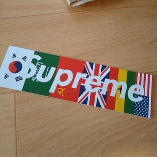 シュプリーム(Supreme)のシュプリーム 国旗 ボックスロゴ(その他)