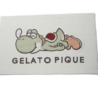 gelato pique - ジェラートピケ マリオ ヨッシー ブランケット