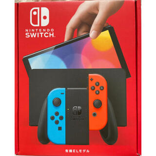Nintendo Switch - Nintendo Switch 有機ELモデル ネオンブルーネオンレッド 送料込