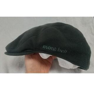 モンベル(mont bell)のモンベル ハンチング 秋冬物 Lサイズ 中古⭐️⭐️⭐️  58~60cm(ハンチング/ベレー帽)