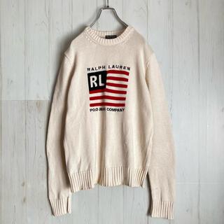 ラルフローレン(Ralph Lauren)のポロジーンズ ラルフローレン 星条旗 アメリカ国旗 Ralph Lauren(ニット/セーター)