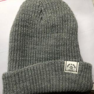 ビームス(BEAMS)のbeams ニット帽 グレー(ニット帽/ビーニー)