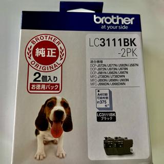 brother - ブラザー インクカートリッジ LC3111 BK新品未使用
