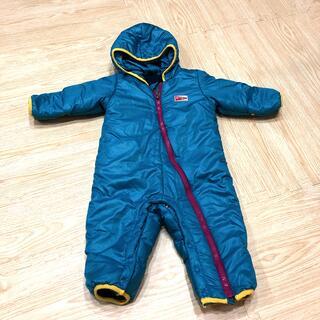 パタゴニア(patagonia)のパタゴニア防寒ダウン ロンパース型80センチ(ジャケット/コート)