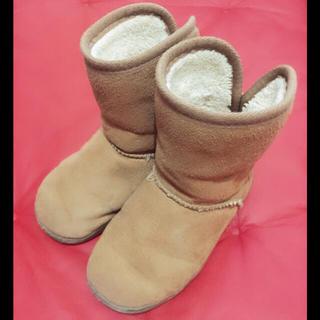 ムジルシリョウヒン(MUJI (無印良品))の無印良品♡ムートンブーツ♡キッズ♡ブーツ(ブーツ)